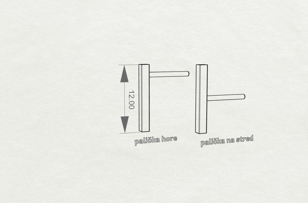 technicky vykres nausnice